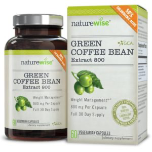 Green coffee bean extract supplement side effects